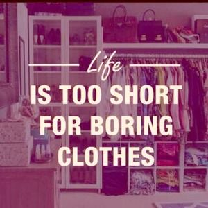 Other - Life's too short for boring clothes!!! So POSH!