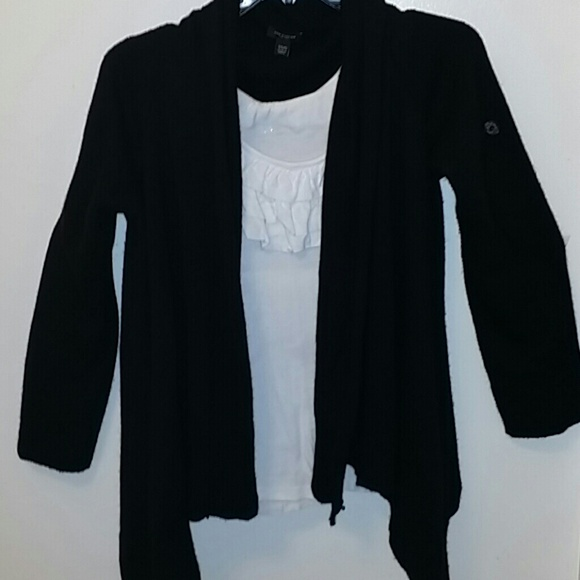 58% off Ann Taylor Sweaters - XS/S Ann Taylor thick black cardigan ...