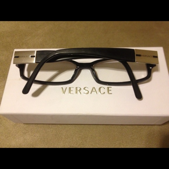 Clear Frame Versace Glasses : 71% off Versace Accessories - Authentic Versace glasses ...