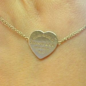 Tiffany&Co 'Heart Tag Bracelet' in Sterling Silver