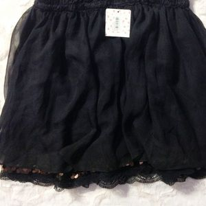 Free People Dresses & Skirts - Free People Overlay Mini w/ Lace & Sequin Trim