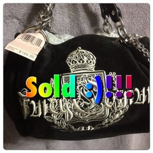 ~~~~SOLD~~~100% Authentic Juicy Couture purse. NWT