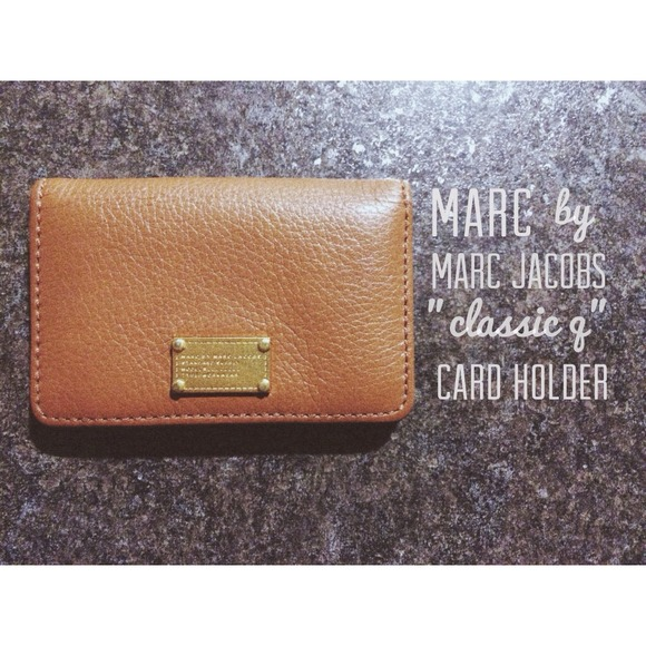 Marc jacobs bags classic q card holder poshmark marc jacobs classic q card holder colourmoves