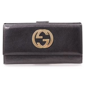 Authentic GUCCI Leather Blondie Continental Wallet