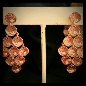 Jewelry - Gorgeous Rose Gold Earrings