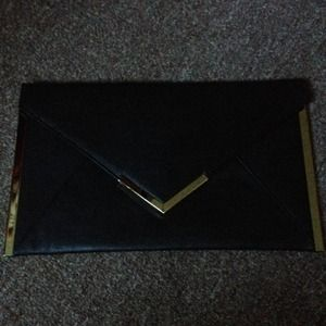 Beautiful black clutch NEW
