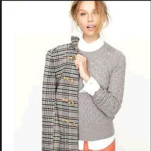 J. Crew Honeycomb Sweater