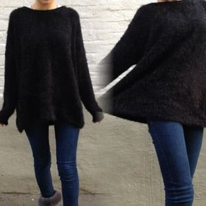 Accessories - Mohair knitted sweater