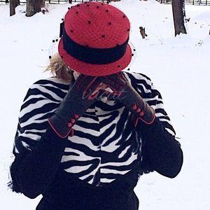 bebe Zebra Stripe Poncho
