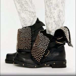 Jeffrey Campbell Hunter Stud Boots