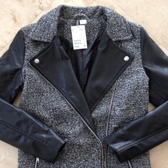 H&M Jackets & Blazers - ✋HOLD 4 @shoppinaddict34✋ H&M biker-style jacket 2