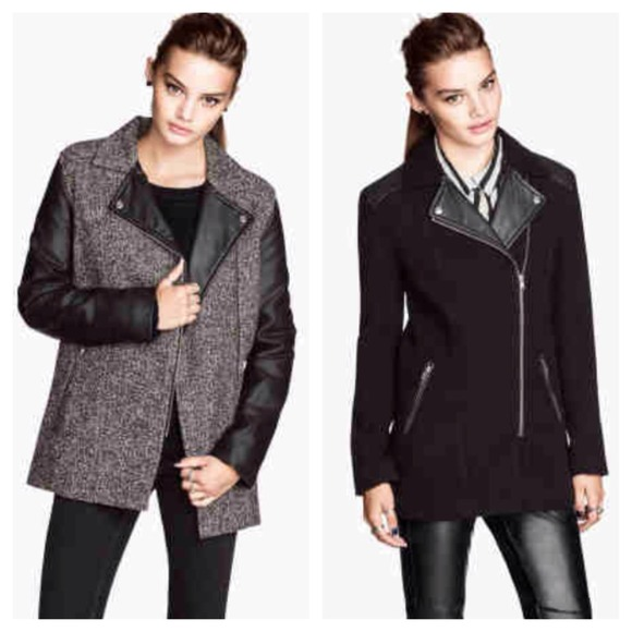 H&M Jackets & Blazers - ✋HOLD 4 @shoppinaddict34✋ H&M biker-style jacket 4