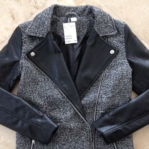 H&M Jackets & Coats - ✋HOLD 4 @shoppinaddict34✋ H&M biker-style jacket 2