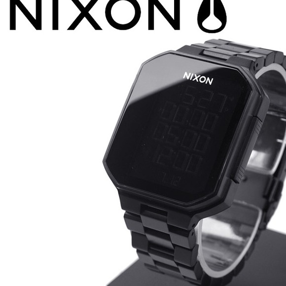 Nixon Accessories - Nixon Synapse Watch in All Black