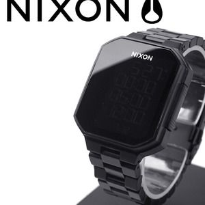 Nixon Synapse Watch in All Black