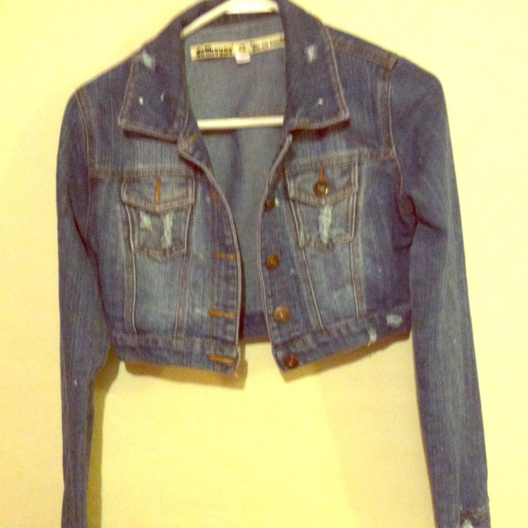 26% off Forever 21 Jackets & Blazers - Half jean jacket from ...