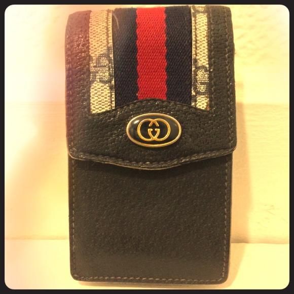 63721ea1c57 Gucci Clutches   Wallets - 🌈RESERVED🌈Auth Gucci Vintage Cigarette Case