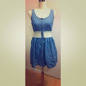 SOLD NWT Urban Outfitters polka dot dress
