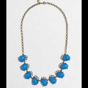 J.Crew Fanned Teardrop Necklace