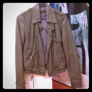 Zara Outerwear - Zara faux leather jacket