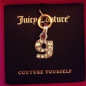 """Juicy Couture Jewelry - Juicy couture initial charm """"g""""💗"""