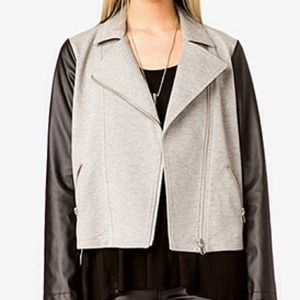 Forever 21 Jackets & Coats - Combo Moto Jacket 3