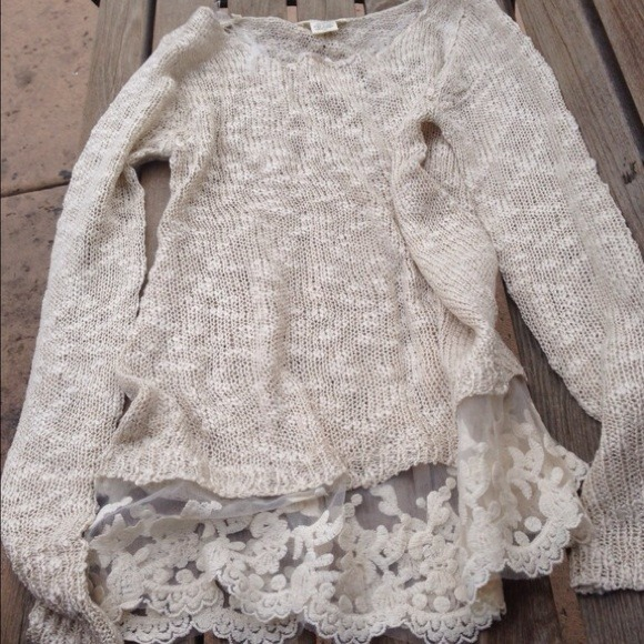 LF - LF inspired lace bottom sweater from Samantha's closet on ...