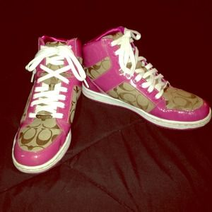 Coach hi-tops sneakers