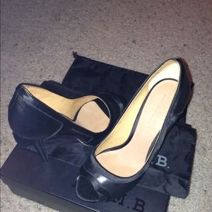 Black L.A.M.B Heels. Never worn.