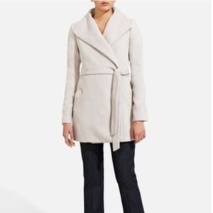 The Limited taupe colored wool coat