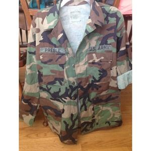 100% Authentic Army Jacket