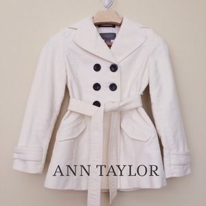 🎉❤️HOST PICK❤️🎉 Soft Cream Belted Trench Coat