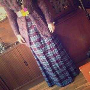 Dresses & Skirts - English Sports Shop vintage pleated plaid skirt