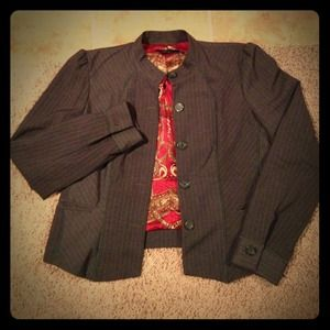 E by ECI Jackets & Blazers - ***SOLD*** the Every Hour Blazer by: ECI