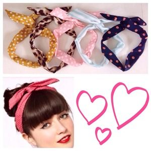 Accessories - 🎉HOST PICK🎉Set of 5 wire headbands