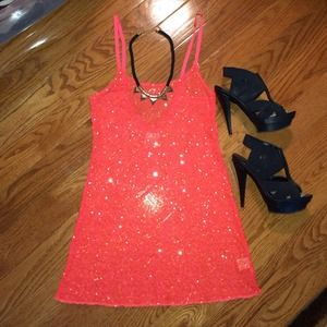 🚫SOLD IN BUNDLE🚫 Free People Sequin Dress!! NWOT