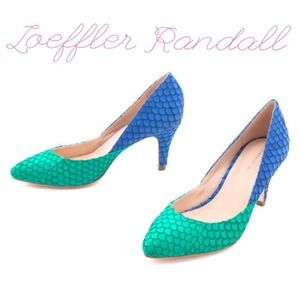 Loeffler Randall Shoes - Authentic Loeffler Randall Python Heels!