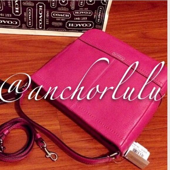 Coach Handbags - NWT💯Auth Coach Mini Duffle Crossbody Bag PINK!
