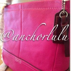 Coach Bags - NWT💯Auth Coach Mini Duffle Crossbody Bag PINK!