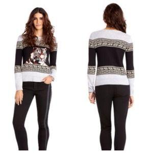 Rachel Roy Sweaters - 🍁Rachel Roy Tiger Print Sweater