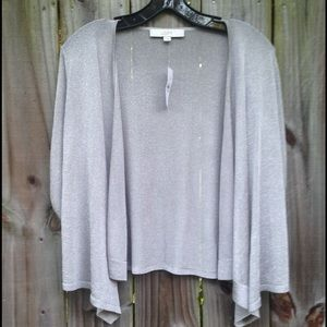 Loft Sparkle Shell Cardigan