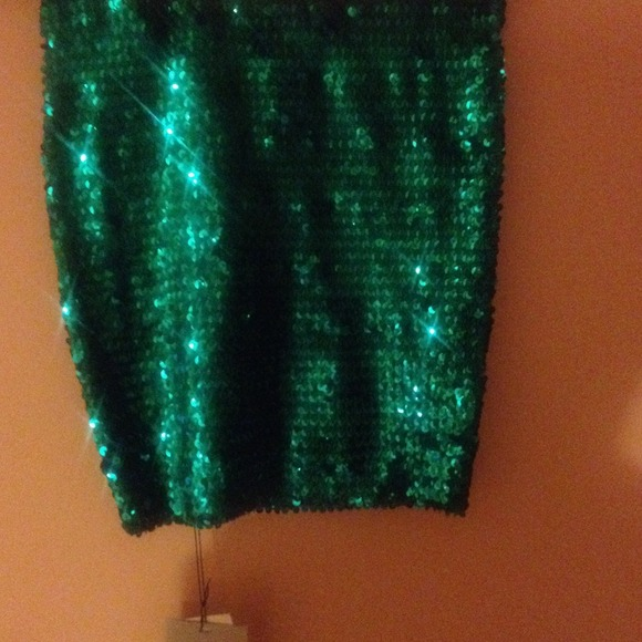 ASOS - NEW Asos sequin pencil skirt black, green or gold from ...