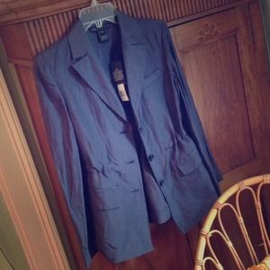 Marc by Marc Jacobs Jackets & Blazers - Marc Jacobs navy silk blend blazer!