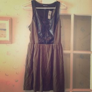 Dresses & Skirts - Nwt  faux leather dress