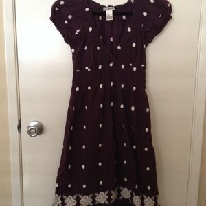Vintage Purple Dress