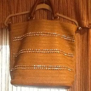 Handbag, woven