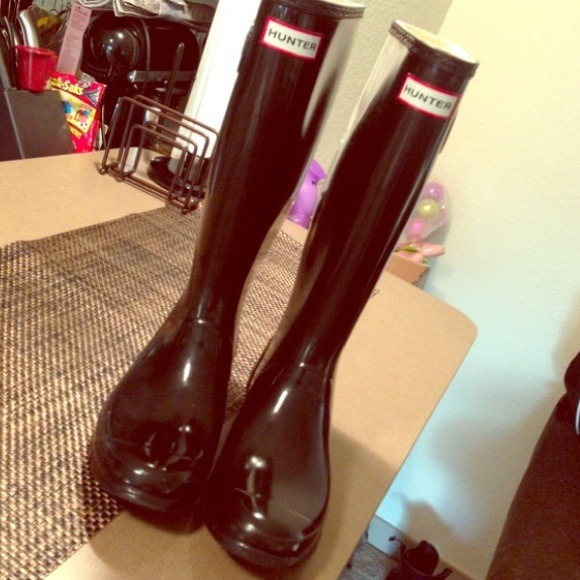 Hunter Boots - Hunter Black Boots