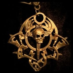 SoE Jewelry - SoE Skull on Chaos Wheel
