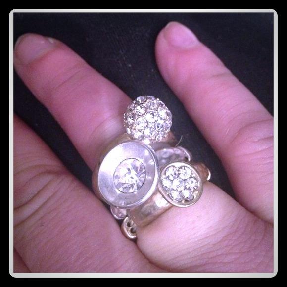 💯Authentic Mirlan Salat Star-studded Rings 18K