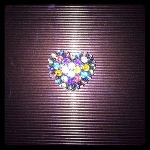 Multi colored gem ring